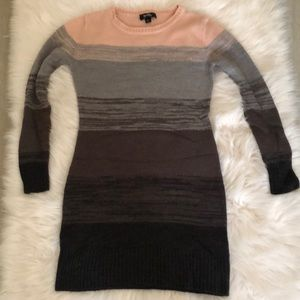 By&By Pink/Grey/Black/Brown Knitted Dress